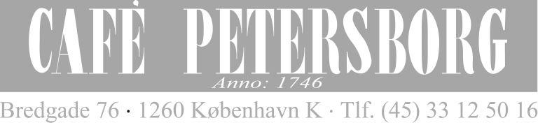 Cafe Petersborg